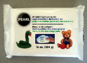 Pearl - air hardening modeling clay 16 oz.